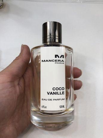 Парфюм mancera coco vanille , оригинал, остаток с 120 мл