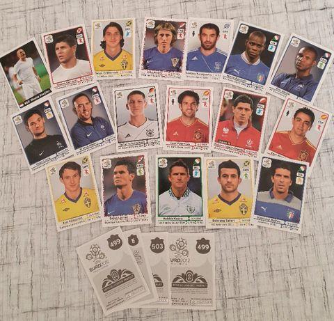 Cromos de Futebol Euro 2012