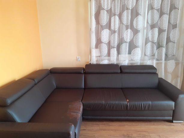Narożnik sofa i dwa fotele
