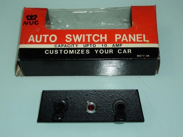 Painel de Interruptores de Luzes Auxiliares p/ Autom. Clássico
