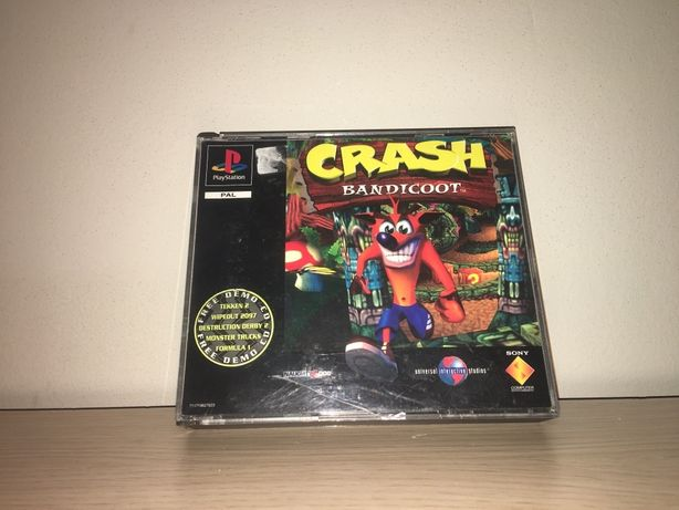 Crash Bandicoot 1+2 Double PSX PSOne PlayStation 1 Gra RARYTAS!Wysyłam
