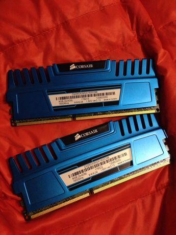Corsair 8 GB (2x4GB) DDR3 1600 MHz