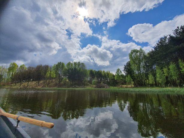 działka rekreacyjna budowlana inwestycyjna z własnym jeziorem (domki)