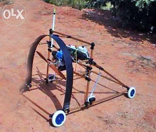 Drone para Fotografia Aérea e Vídeo tipo Paramotor