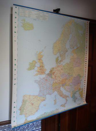 Mapa Politico da Europa 1 : 3.800.000