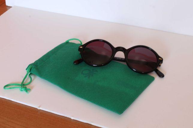Óculos de Sol Autênticos Vintage - Benetton - Made in Italy