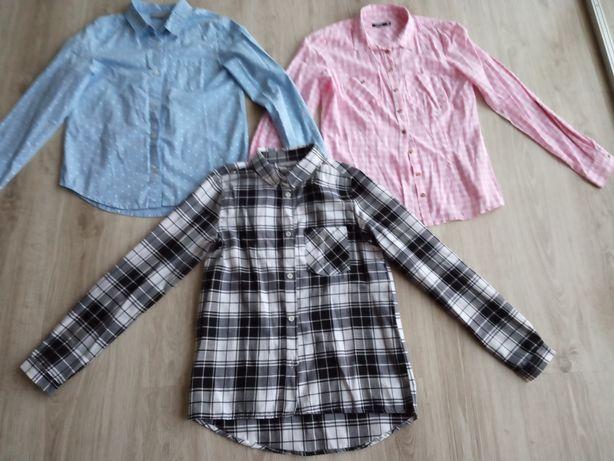 Bluzki koszulowe 152/158