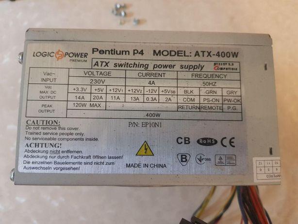 Блок питания БП LogicPower ATX-400W