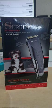 Maquina de tosquiar Caes cão e gatos Nova