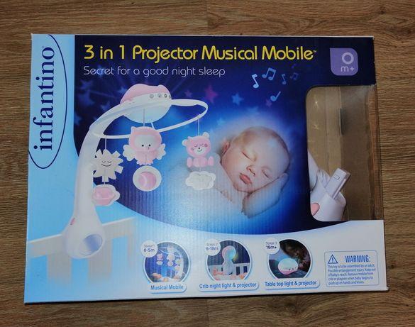 Karuzela B-Kids projektor do łóżeczka