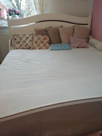 Rama łóżka Ikea Leksvik, biała 160x200