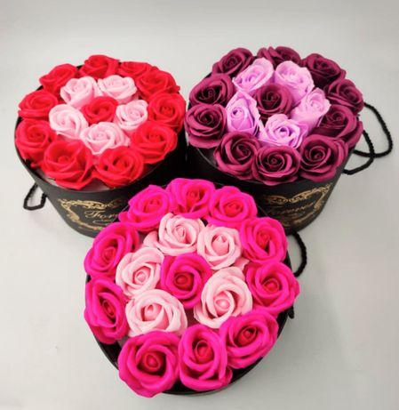 """Цветы в коробке """"Love You"""". Подарок любимым и родным людям"""