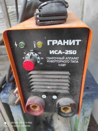 Сварка инвертор Гранит ИСА-250