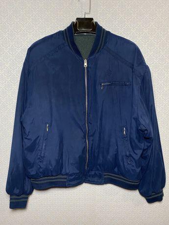 Куртка двухсторонняя Fred Perry Lacoste Tommy Hilfiger Diesel размер L