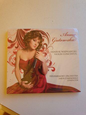 Anna Gutowska Henryk Wieniawski koncert cd