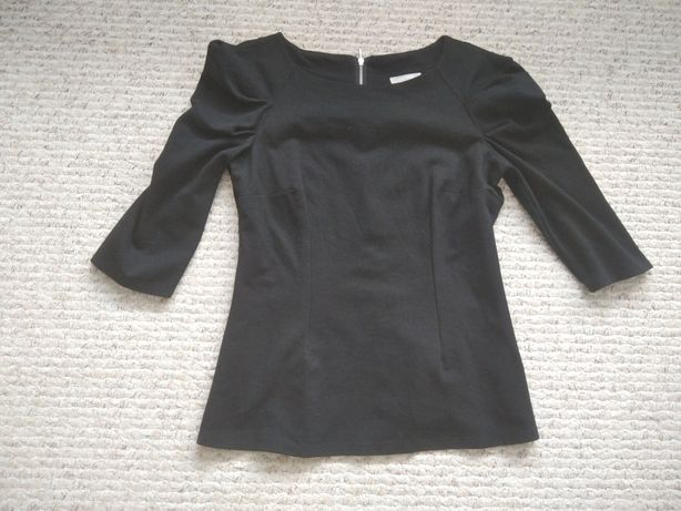 Czarna bluzka Orsay 40/L z bufkami