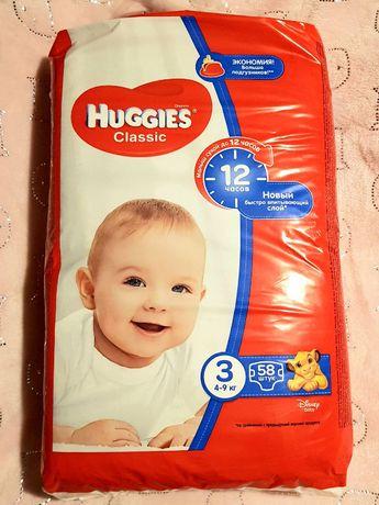 Подгузники Huggies Classic 3 Jumbo 58