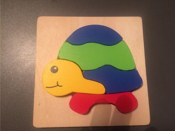Układanka puzzle dla maluszka