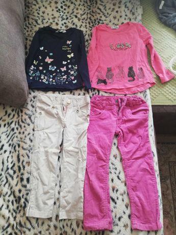 Речі на дівчинку 4-6 років H&M та інш.
