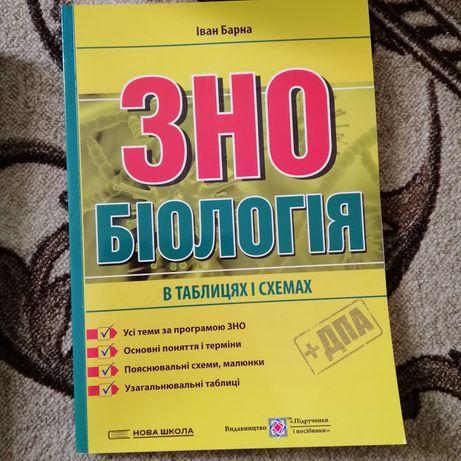 Книги для підготовки до ЗНО з біології