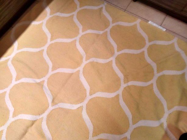 Dywan wełniany ręcznie tkany na płasko