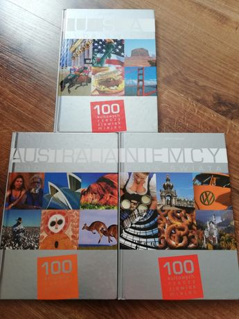 Książki z serii Cuda Świata - Australia, USA, Niemcy