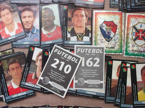 50 CROMOS FUTEBOL 2000/2001 PANINI