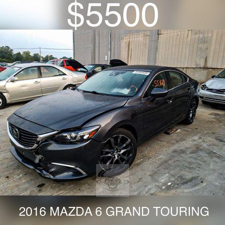 """Mazda 6 Grand Touring 2016 2.5 USA """"CAYMAN CAR"""""""