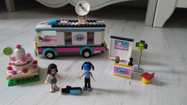 41056 LEGO friends wóz telewizyjny