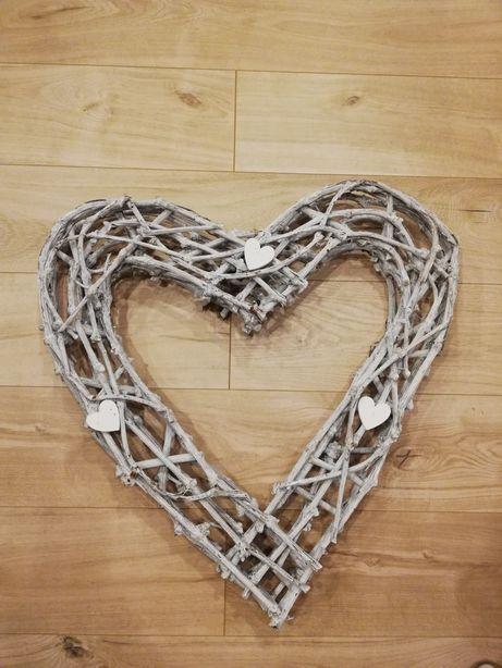 Drewniane serce 60cm/70cm i inne dekoracje ślubne