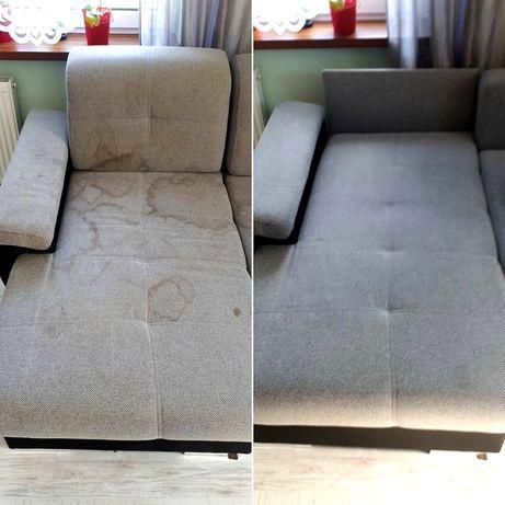 Pranie czyszczenie tapicerki dywanów narożnika kanapy Karcher