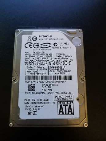 Dysk HDD 2,5 cala hitachi 120gb