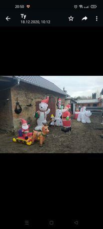 Sprzedam dmuchane ozdoby świąteczne