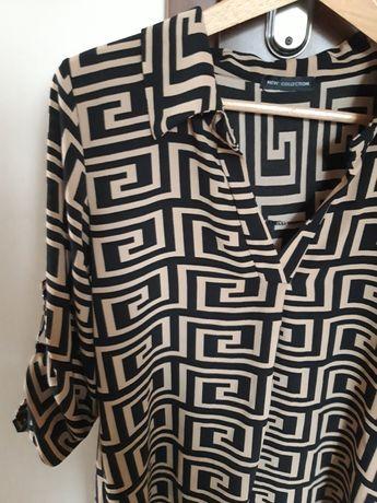Koszula bluzka mega modny wzor jak Fendii S M L
