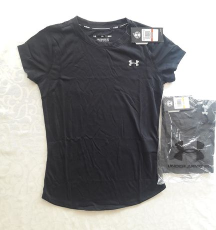 Under Armour koszulka damska czarna XS S