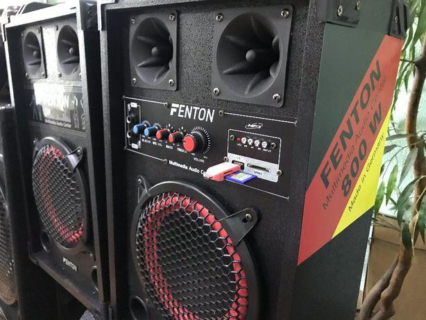 АКТИВНЫЕ КОЛОНКИ Мощная акустическая система Fenton 800W GERMANY