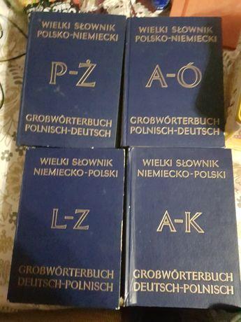 Wielki słownik polsko-niemiecki i niemiecko-polski 1983