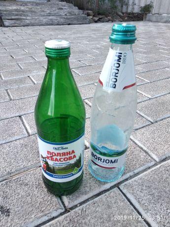Продам стеклянные бутылки.