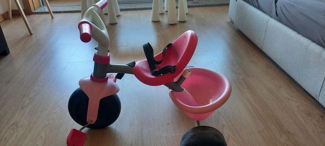 Triciclo criança rosa - conservado