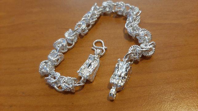 925 Silver Dragon bransoletka