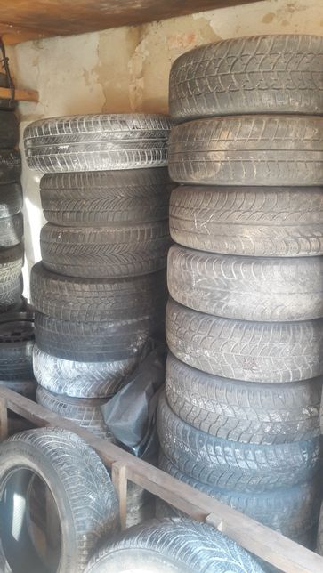 Резина колеса на 14 15 16 разные размеры РОЗПАРОВКА розборка опель