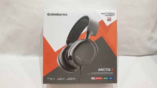 Słuchawki Steelseries ARCTIS 3 WHITE stan IDEALNY.