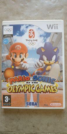 Mario e Sonic nos jogos Olímpicos - Wii