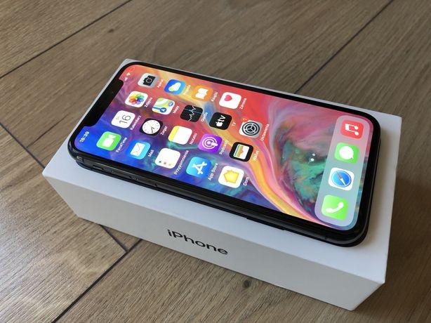 Idealny iPhone X 64 GB SPACE GRAY jak NOWY!