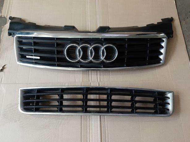 Решітка капота бампера Audi A8 D3 Ауді А8 Д3 Ауди А8 Д3