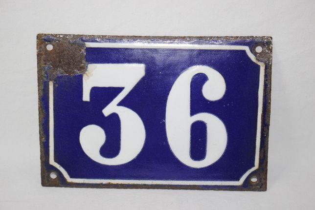 2 Placas esmaltadas - Numeros de porta - 36 e 31
