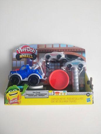 Nowy zestaw Play doh wóz holowniczy + auta