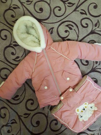 Куртка-конверт для девочки