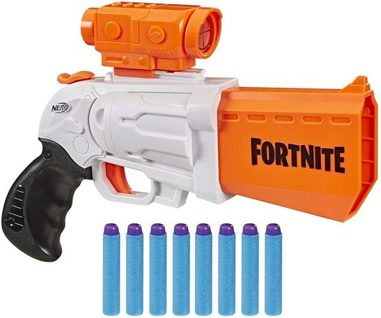Нерф Фортнайт с прицелом NERF Fortnite SR Blaster +30 пуль