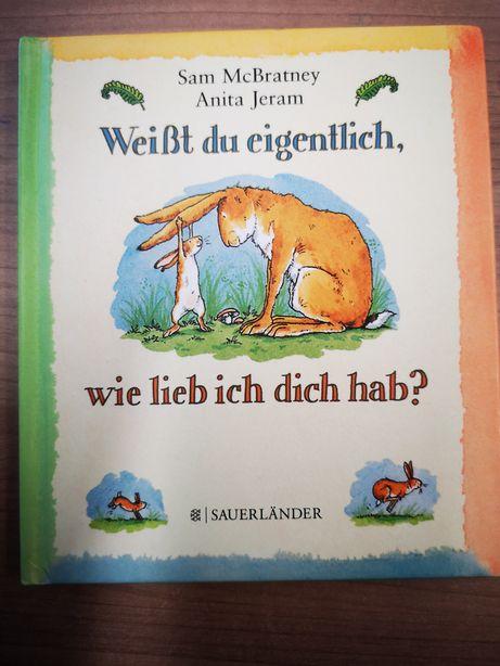 Weisst du eigentlich, wie lieb ich dich hab? niemiecku niemieckim